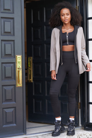 MIND BODY LOVE Moto Leggings