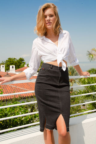 Pull-On Ruffle Skirt