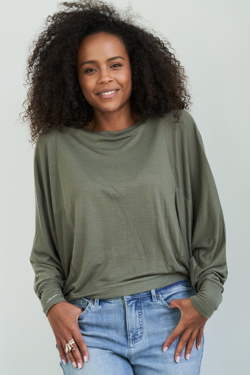 Mind Body Love Dolman Sleeve Pullover
