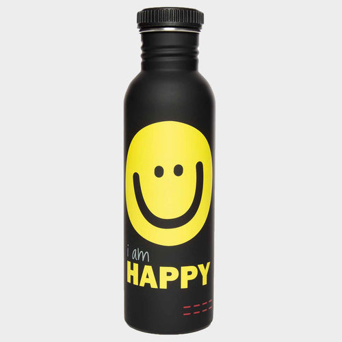 happy water bottle