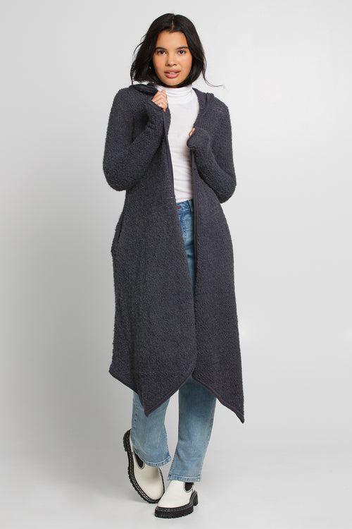 long duster sweater - sample