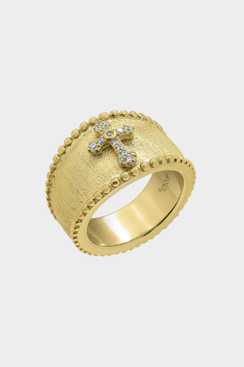 holy cross statement ring