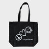 FREE Peace Love World Tote Bag