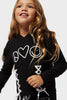 Peace Love World Comfy Tie Pullover