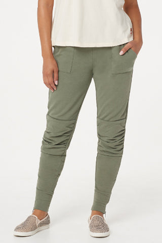 kt full length tapered leg pants