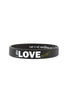 I am Love Miami Silicone Bracelet