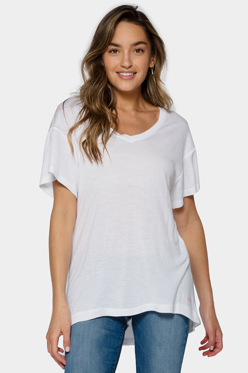 set of 3 v-neck tee bundle