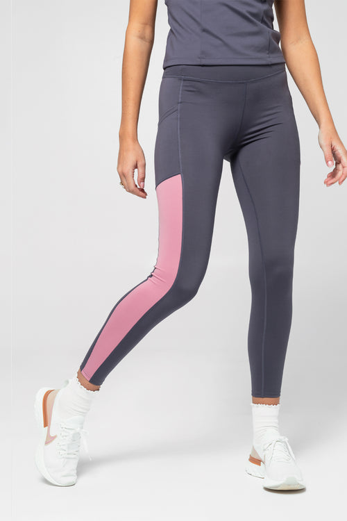mind body love color blocked legging - sample