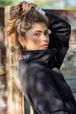 Mind Body Love Reversible Sweatshirt