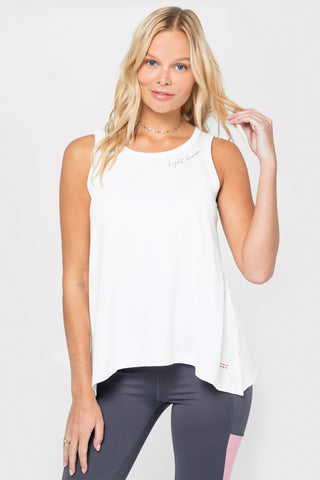 High Low Pima Cotton Tee