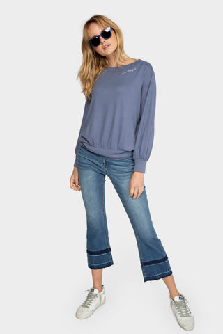 balloon sleeve comfy top