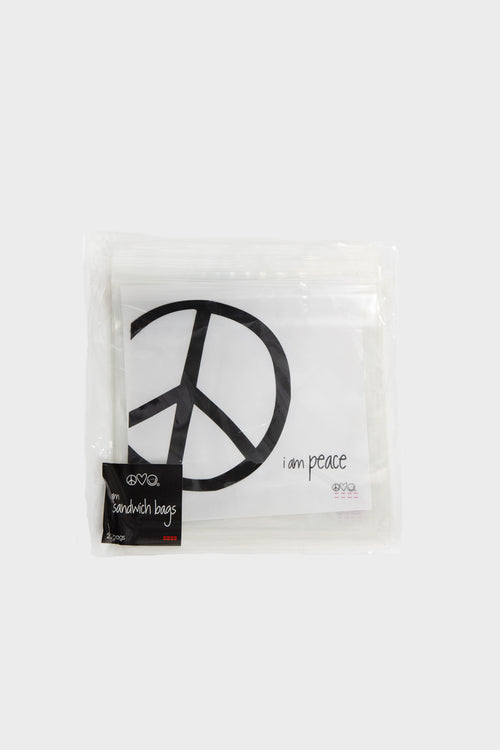 i am peace sandwich bags