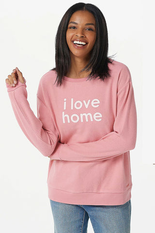Jersey Knit Love to Lounge Hoodie