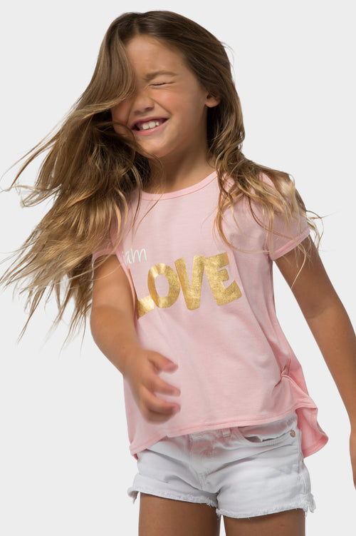 love hi lo fashion tee