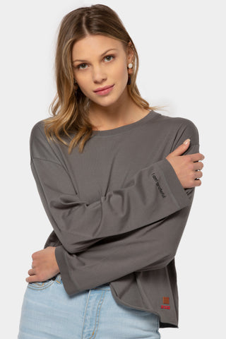 relaxed pima cotton shirt