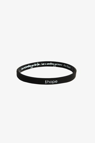 I am Hope Silicone Bracelet