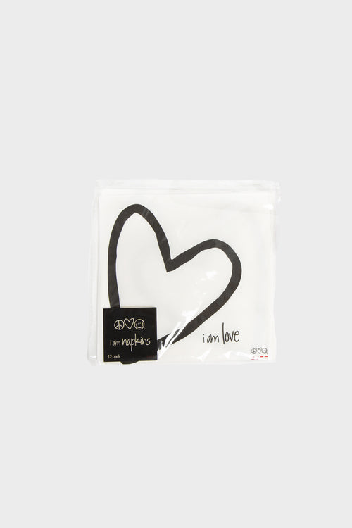 i am love napkin pack