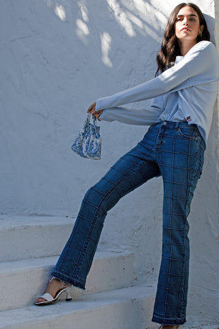 Mia Striped Jean
