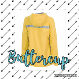 Charles River New Englander Rain Jacket (Ladies)- Buttercup