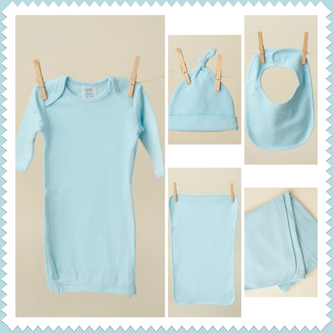 Baby Blue Layette