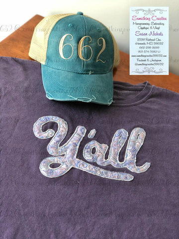 Y'all Comfort Color Tee & Hat