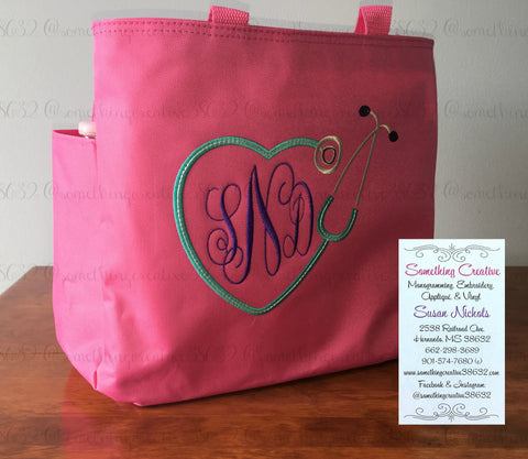 Personalized Medical Professional's Bag