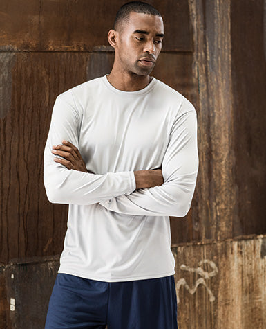 Adult Cooling Performance Long Sleeve Crew