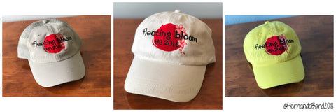 Fleeting Bloom Hats