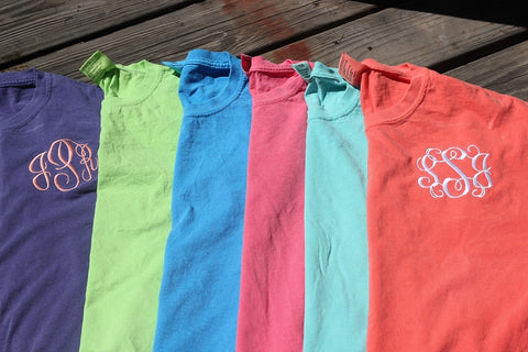 Comfort Color ~ Short-sleeve ~ Non-pocket ~ Adult S-XL
