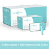 Mastercase - GK+ Ketone Test Strips (200 units)