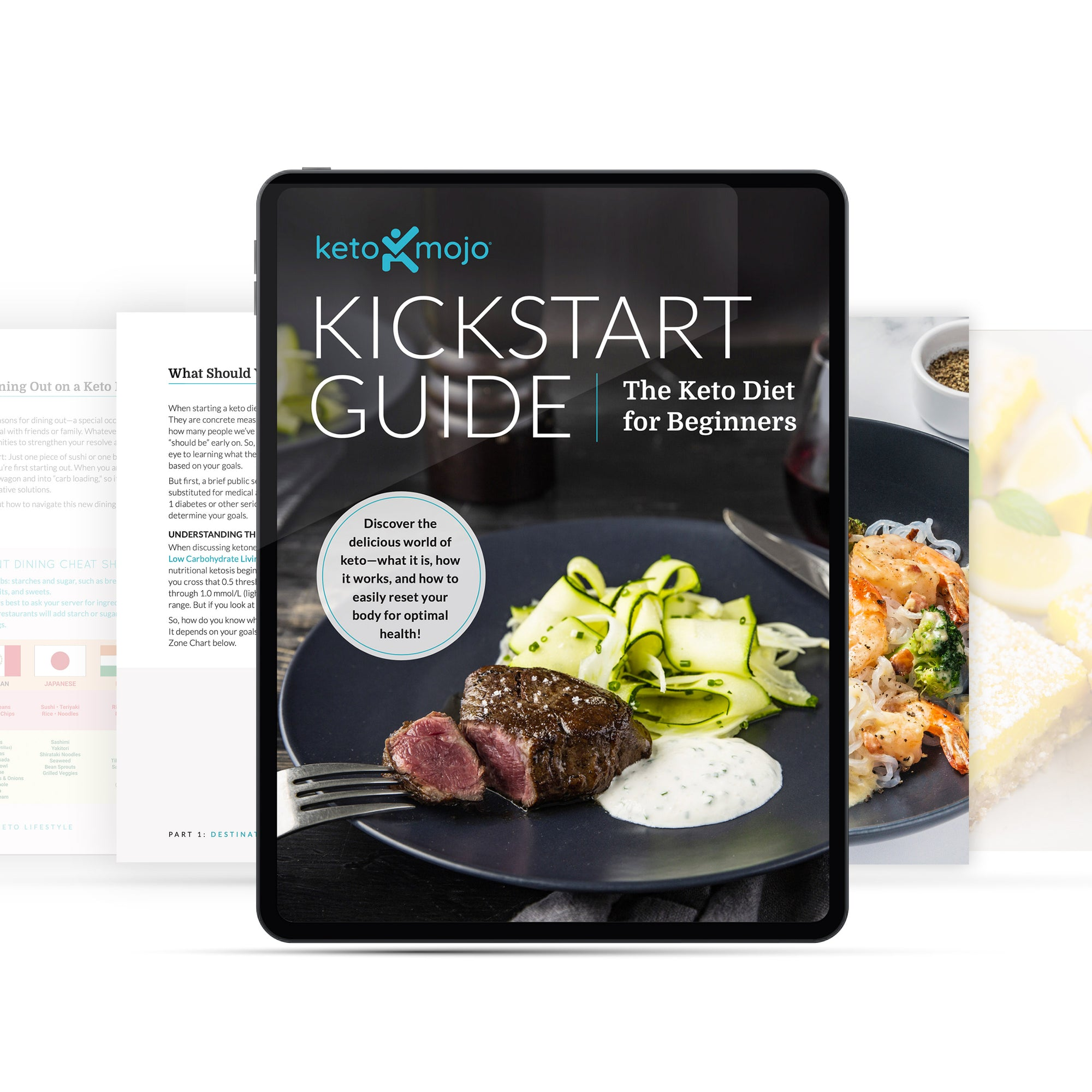 Kickstart Guide: Keto for Beginners (digital e-Book)