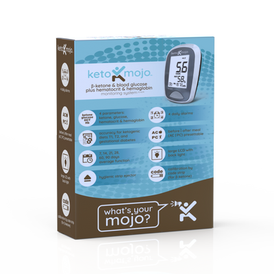 Keto-Mojo Bluetooth Ketone and Glucose Meter