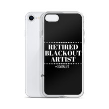 Retired Blackout Artist iPhone Case w/ White