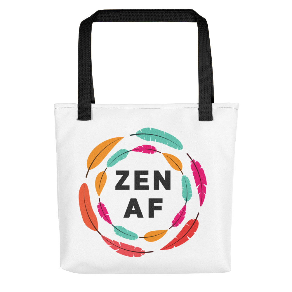 Zen AF Tote bag w/ Feathers