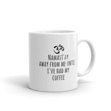 Coffee Namast'ay Away Mug