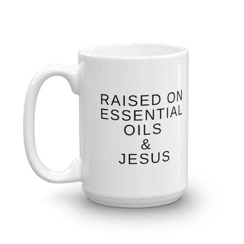 Essential Oils & Jesus Mug
