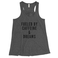 Fueled By Bella Flowy Racerback Tank w/ Black