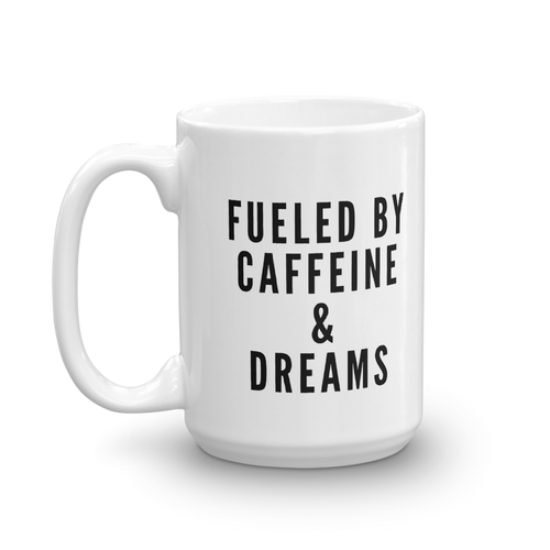 Caffeine & Dreams Mug