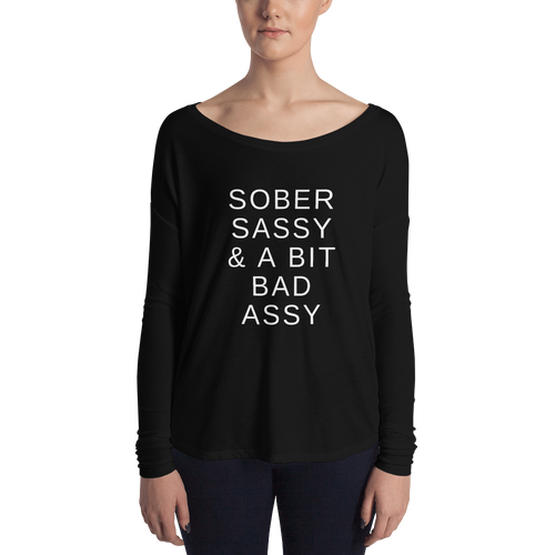 A Bit Bad Assy Bella Long Sleeve Tee