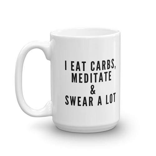 Carbs & Swear Mug