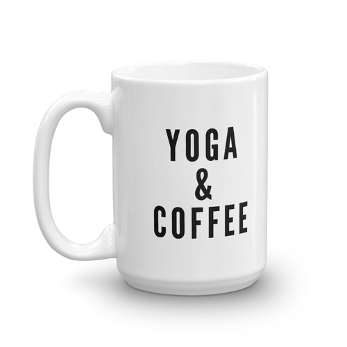 Yoga & Coffee Mug