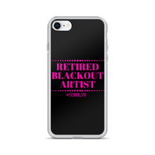 Retired Blackout Artist iPhone Case w/ Pink
