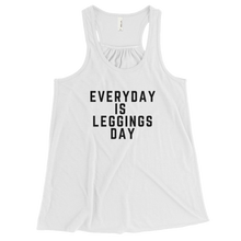 Leggings Day Bella Flowy Racerback Tank w/ Black