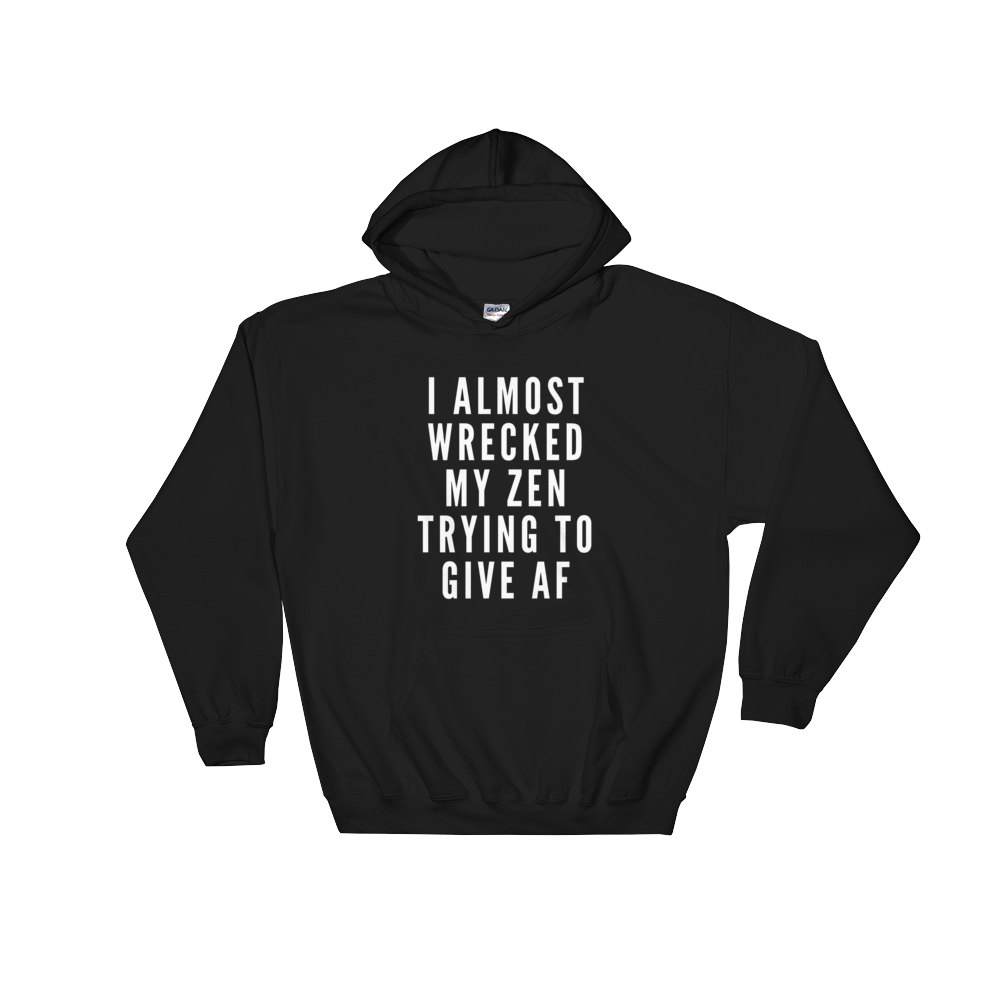 Can't Wreck It Unisex Relaxed Hooded Sweatshirt