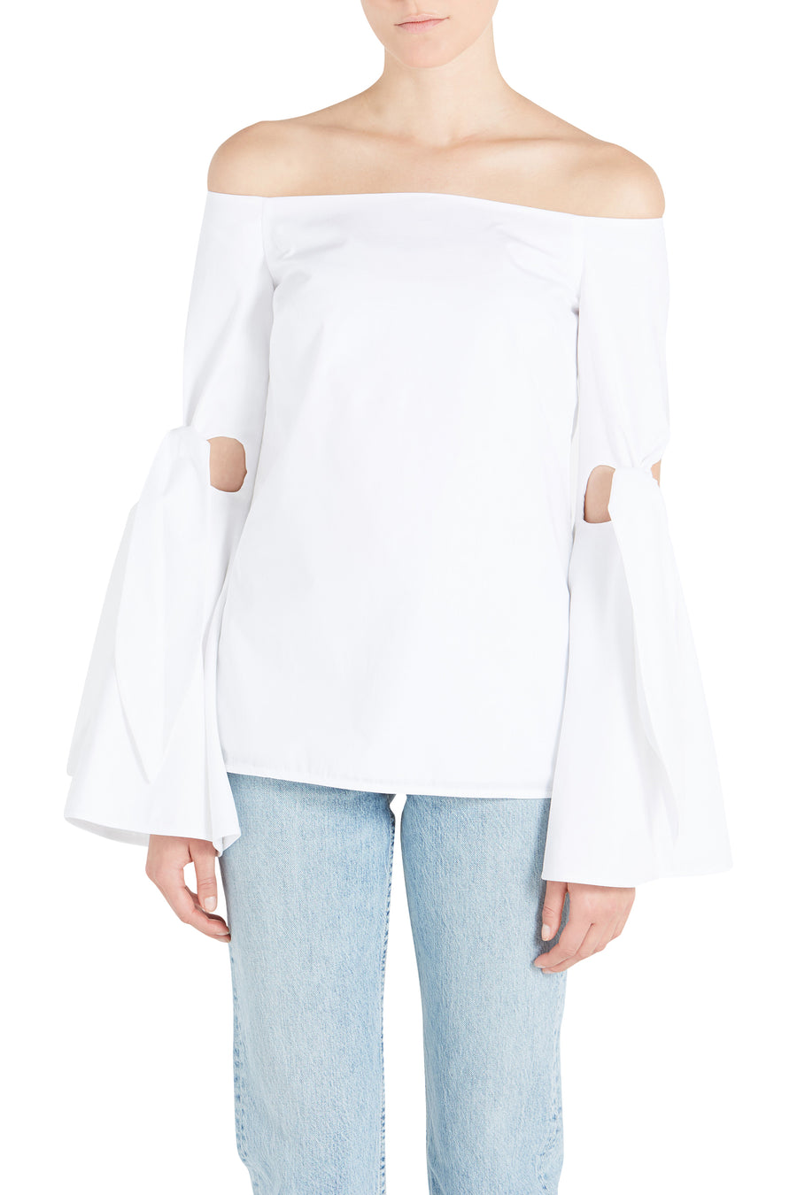 LOPEZ OFF THE SHOULDER SHIRT