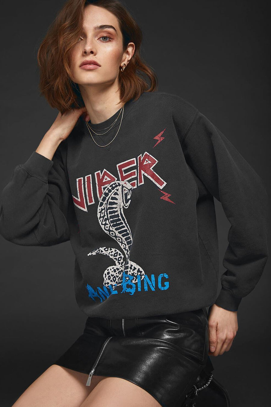 Anine Bing Serpent Sweatshirt from The New Trend