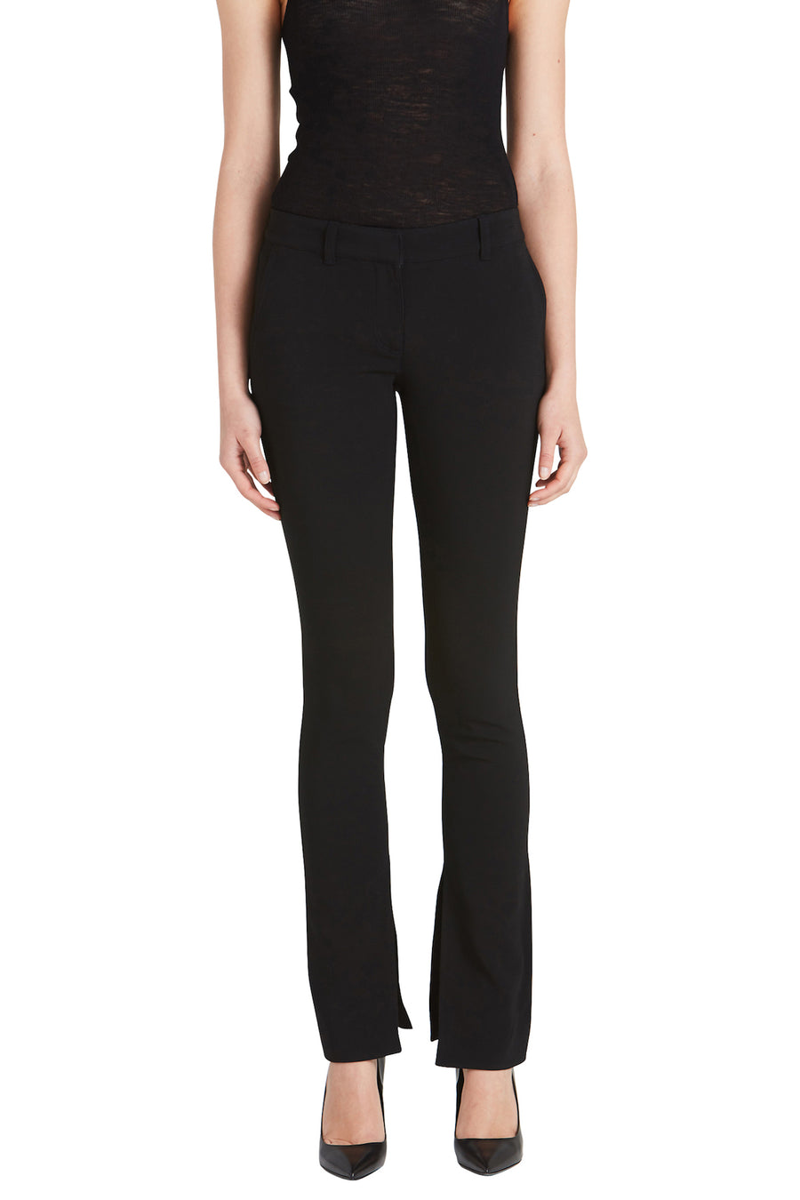 A.L.C. Javier Women's Black Pants from The New Trend