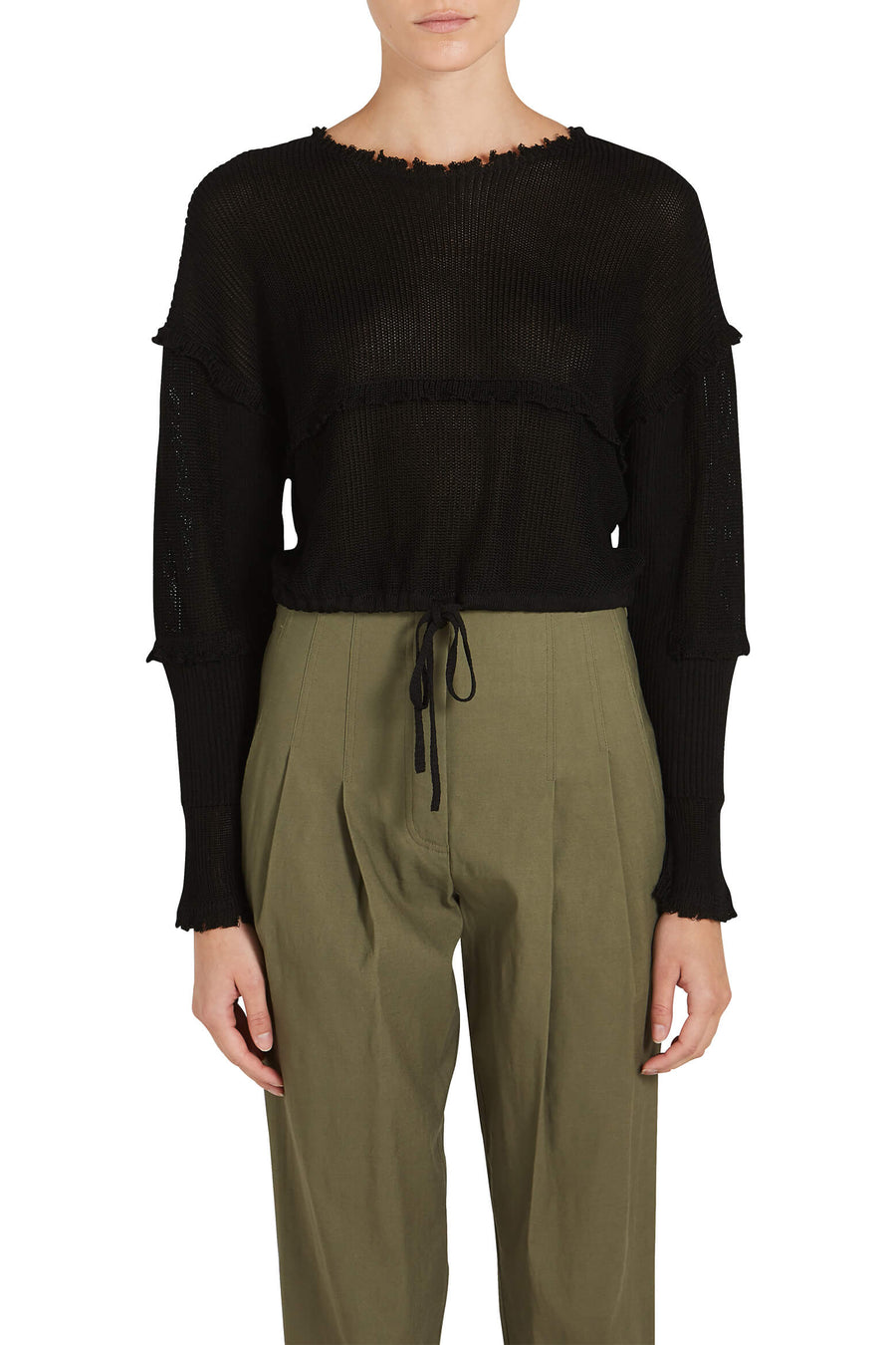 3.1 Phillip Lim Cropped Pullover The New Trend