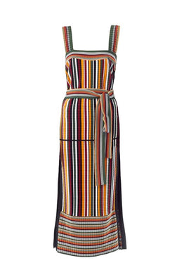 3.1 Phillip Lim Multi Striped Maxi Women's Dress from The New Trend Flat