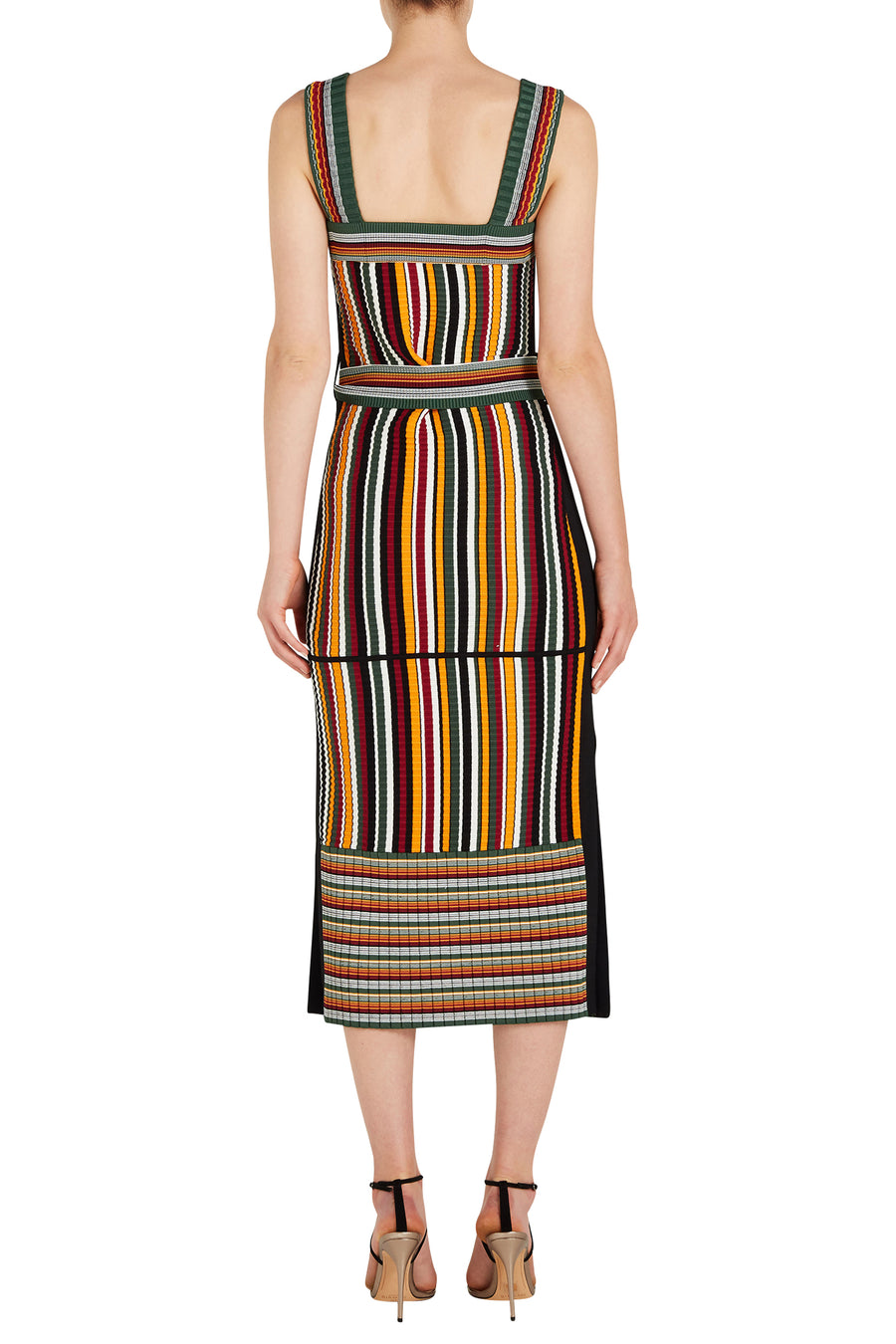 3.1 Phillip Lim Multi Striped Maxi Women's Dress from The New Trend